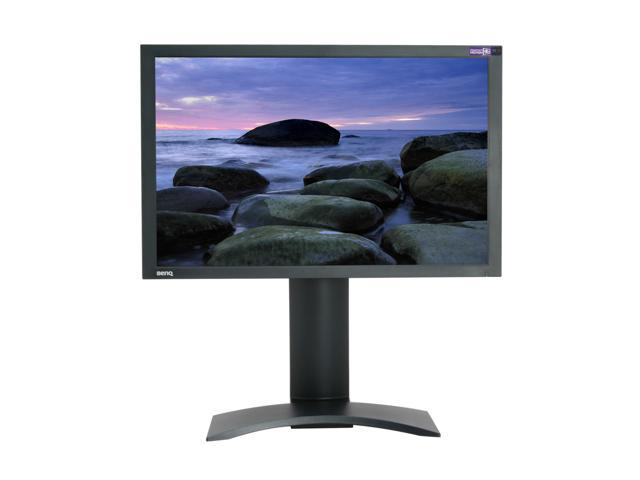 "BenQ FP241WZ Black 24"" 6ms(GTG) DVI Widescreen LCD Monitor with Height and Pivot Adjustments 500 cd/m2 1000:1"