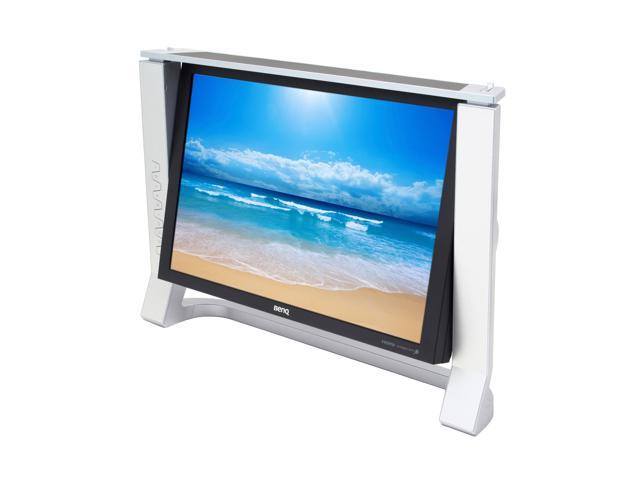 """BenQ FP241VW Silver-Black 24"""" 6ms GTG DVI HDMI Widescreen LCD Monitor with Tilt Adjustment and 1:1 Pixel Mapping 500 cd/m2 1000:1"""