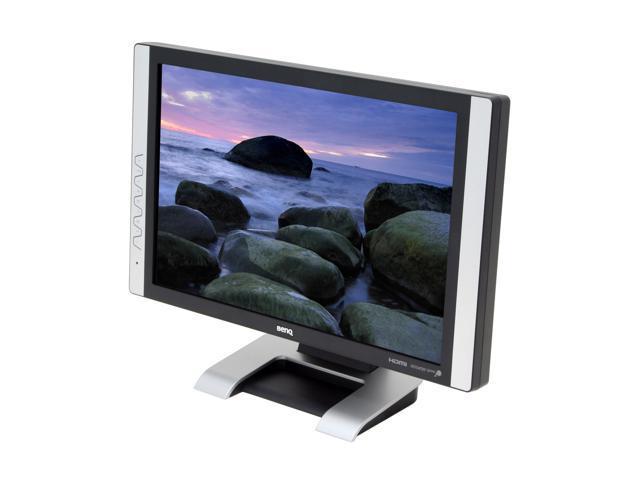 """BenQ FP94VW Silver-Black 19"""" 2ms (GTG) HDMI Widescreen HDMI LCD Monitor 300 cd/m2 800:1"""