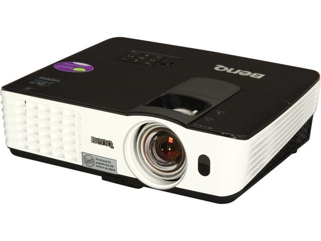 BenQ MX618ST XGA 1024 x 768, 2800 ANSI Lumens, HDMI Input & USB Display, 3D Ready Short-throw DLP Projector