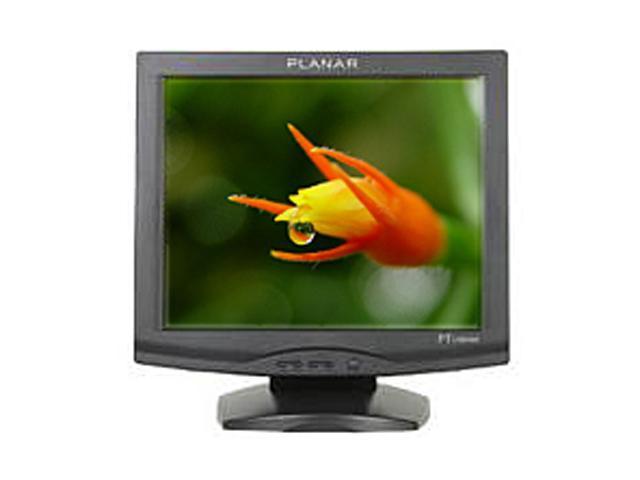 "PLANAR PT1701MU Black 17"" USB Capacitive LCD Touchscreen Built-in Speakers"