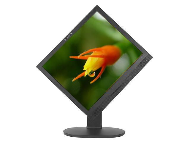 "PLANAR PL1911M-BK(997-3113-00) Black 19"" 5ms Height, Tilt, Pivot & Swivel Adjustable LCD Monitor 300 cd/m2 1000:1 Built-in Speakers"