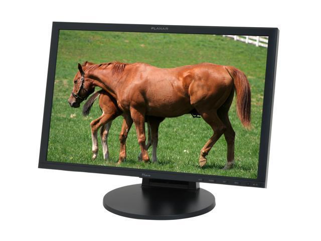 """PLANAR PX2611W Black 26"""" 5ms (GTG) Widescreen LCD Monitor w/ Height & Swivel Adjustments 500 cd/m2 1000:1 w/ 4 USB 2.0 Hub"""