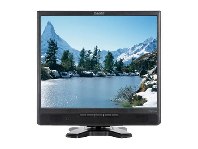 """PLANAR PJT175R (997-6377-00) Black 17"""" D-Sub 5-wire Resistive Touchscreen Monitor Built-in Speakers"""
