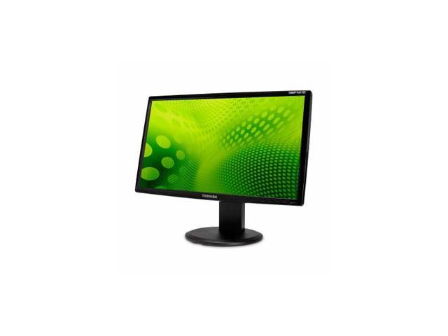 "TOSHIBA PA3769U-1LCH Black 23.6"" 5ms Widescreen LCD Monitor Built-in Speakers"