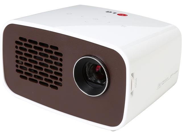 Lg minibeam ph300 1280 x 720 wxga 300 ansi lumens for What s the best pocket projector