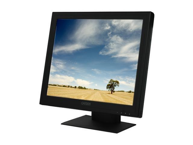 "GVISION P19BH-AE-459G Black 19"" Serial/USB Touchscreen LCD Monitor"