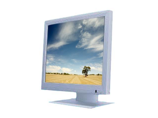 "GVISION MA15BX-AE-4000 White 15"" 16ms MA15BXseries LCD Monitor Built-in Speakers"
