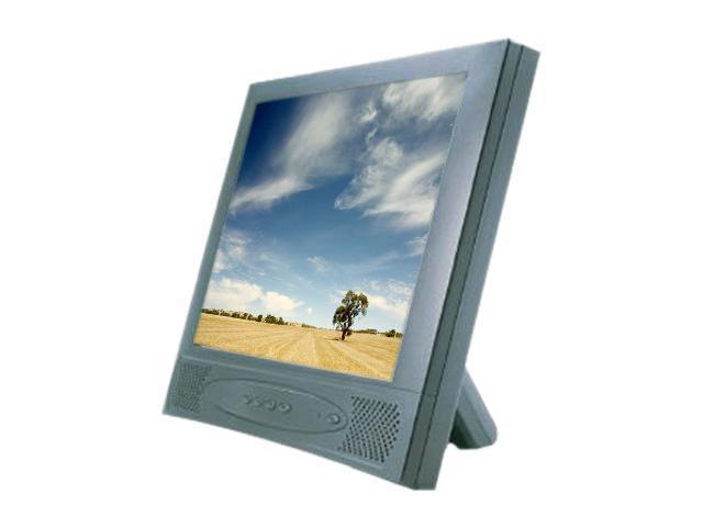 """GVISION L15AX-JA-453G Black 15"""" USB 5-wire Resistive Touchscreen LCD Monitor Built-in Speakers"""