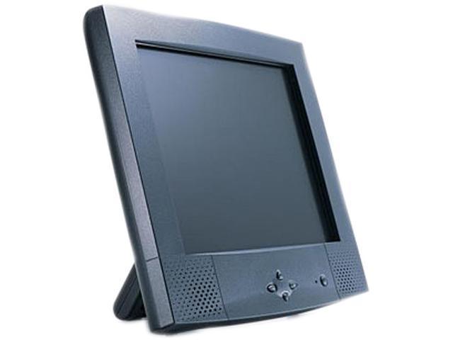 "GVISION J7PH-TA-4010 Black 17"" SXGA LCD Monitor"