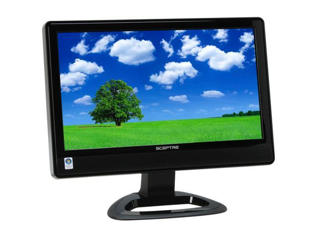 "SCEPTRE X23WG-1080P Black 23"" 8ms Widescreen LCD Monitor 500 cd/m2 1000:1 Built in Speakers"