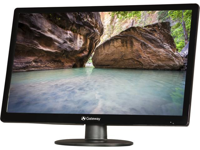 "Gateway FHX2303LAbd Black 23"" 5ms Widescreen LED Backlight LCD Monitor"