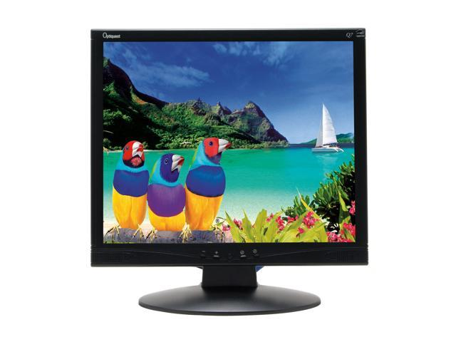 "ViewSonic Optiquest Series Q7B-3 Black 17"" 8ms LCD Monitor 280 cd/m2 600:1 Built-in Speakers"