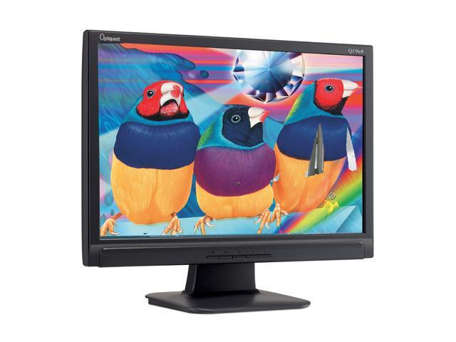 """ViewSonic Optiquest Series Q19wb Black 19"""" 5ms Widescreen LCD Monitor 300 cd/m2 700:1 Built-in Speakers"""