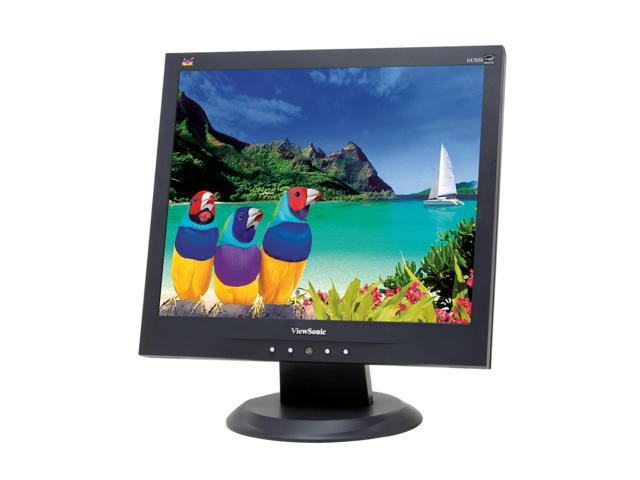 "ViewSonic Value Series VA703b Black 17"" 8ms LCD Monitor 280 cd/m2 600:1"