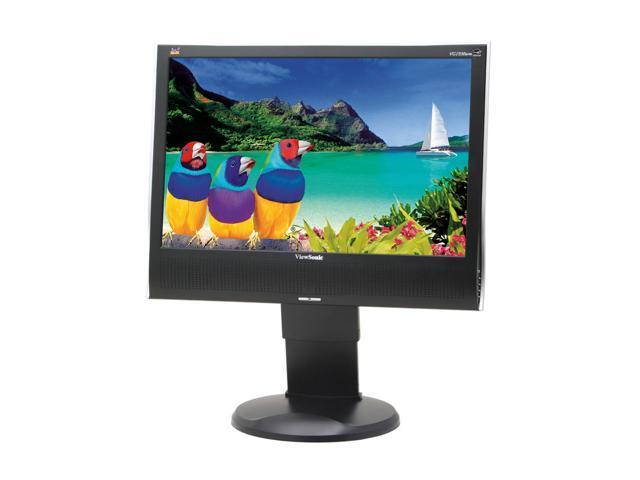 """ViewSonic Graphic Series VG1930wm Black 19"""" 5ms Widescreen LCD Monitor 300 cd/m2 700:1 Built-in Speakers"""