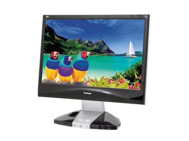 """ViewSonic VX2245wm 22"""" 5ms ViewDock DVI Widescreen LCD Monitor 280 cd/m2 700:1 Built in Stereo Speakers with Subwoofer"""