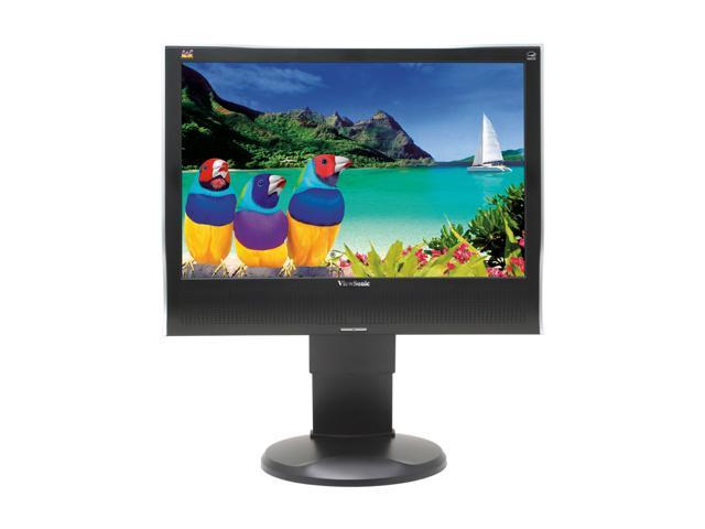 "ViewSonic Value Series VA1930wm Black 19"" 5ms Widescreen LCD Monitor with height adjustment 300 cd/m2 700:1 Built-in Speakers"