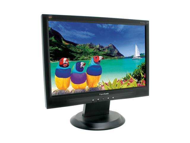 "ViewSonic Value Series VA1703wb Black 17"" 8ms Widescreen LCD Monitor 250 cd/m2 500:1"