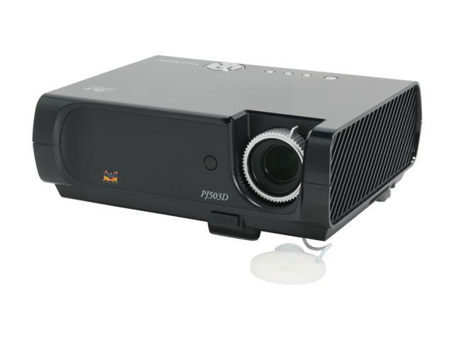 ViewSonic PJ503D 800 x 600 1,500 ANSI lumens (max.) DLP Projector 2000:1