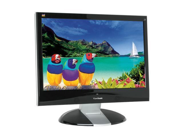 "ViewSonic VX2835WM 27.5"" Piano Black 3ms(GTG) Widescreen FULL HD 1080p HDMI LCD Monitor 500 cd/m2 800:1 Built in Stereo Speakers"