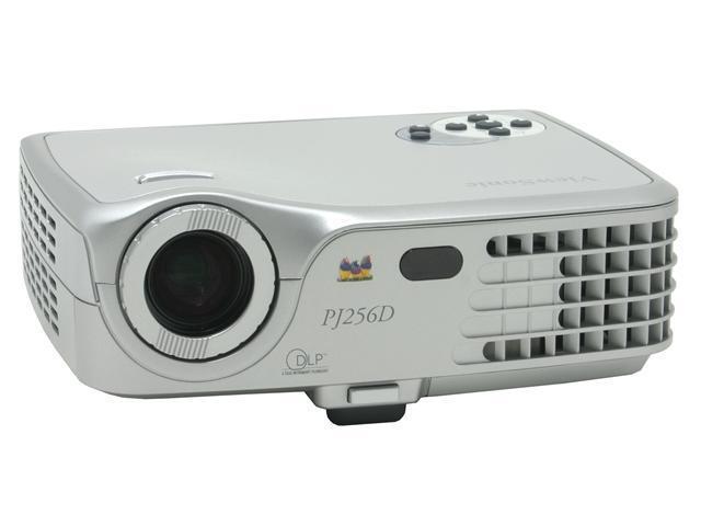 ViewSonic PJ256D 1024 x 768 1500 Lumens DLP XGA, 2.2 lbs Portable Projector 2000:1