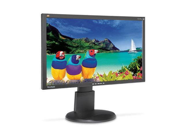 "ViewSonic VG2428WM Black 24"" 5ms Pivot, Swivel & Height Adjustable Widescreen LCD Monitor 300 cd/m2 DC 100,000:1 (1,000:1) Built-in Speakers"