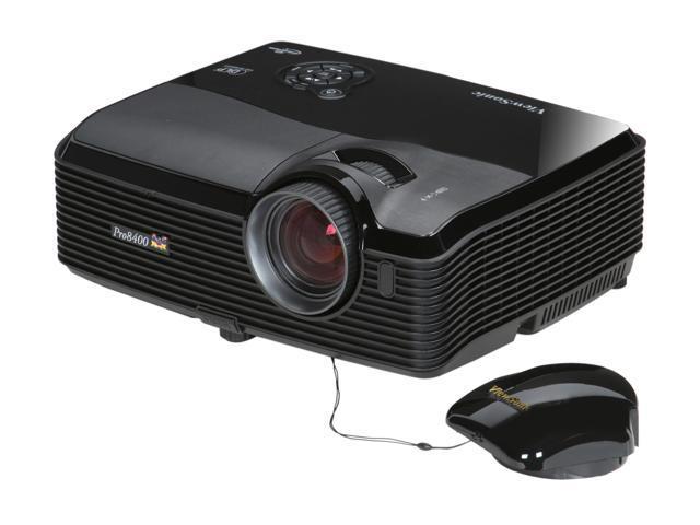 ViewSonic PRO8400 1920x1080 FHD 4000 ANSI Lumens, Dual HDMI Inputs, RJ45 (Crestron LAN Control/Display), Auto Keystone Correction, PC-less JPG ...