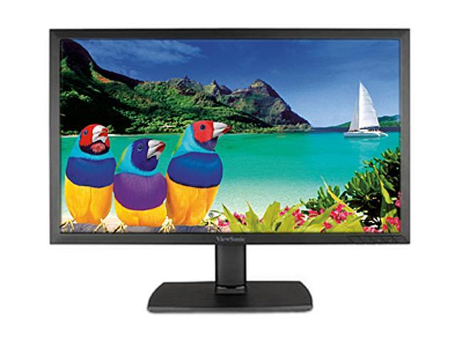 "ViewSonic VA2451M-TAA Black 24"" 5ms Widescreen LED Backlight LCD Monitor Built-in Speakers"