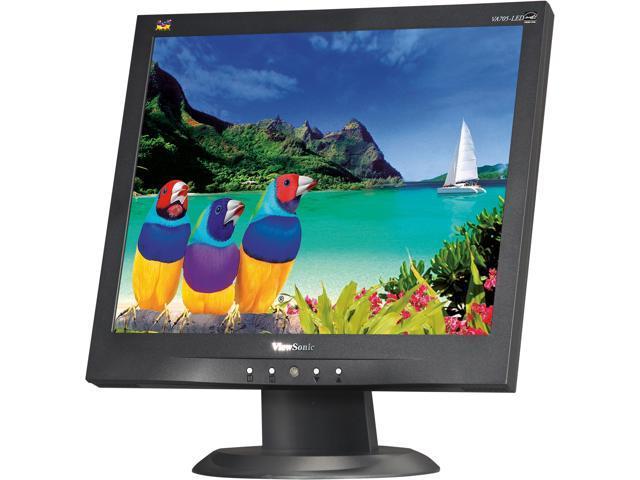 ViewSonic VA705-LED Black 17