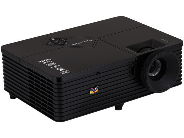 ViewSonic PJD6544W 1280 x 800 3500 ANSI lumens DLP Projector 15,000:1 RJ45