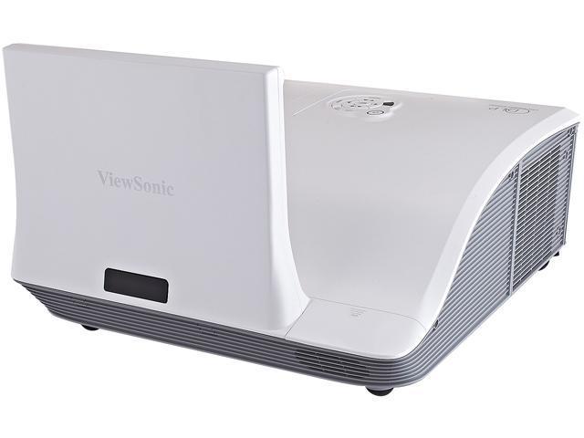 ViewSonic PJD8653WS 1280x800 WXGA 3000 ANSI Lumens, Ultra Short Throw, Dual Interactive Pen, Crestron LAN, HDMI Input, Keystone ...