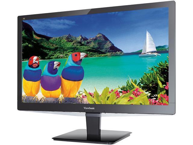 ViewSonic VX2475Smhl-4K Black 24