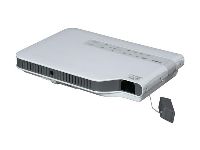 CASIO Green Slim XJ-A245V WXGA 1280x800 2500 Lumens DLP Projector Mercury Free Light Source w/ Wireless Adapter