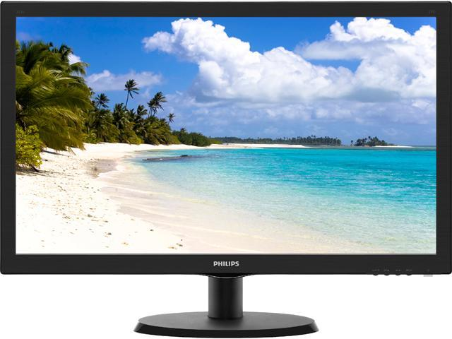 PHILIPS 223V5LSB Black 21.5