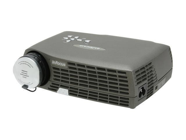 InFocus LP70+ 1024 x 768 1100 ANSI lumens DLP Projector 1100:1