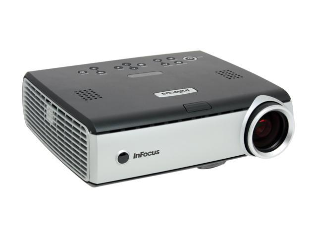 InFocus IN34 1024 x 768 High Bright: 2500 max ANSI lumens DLP Projector 1000 : 1 Full On/Full Off