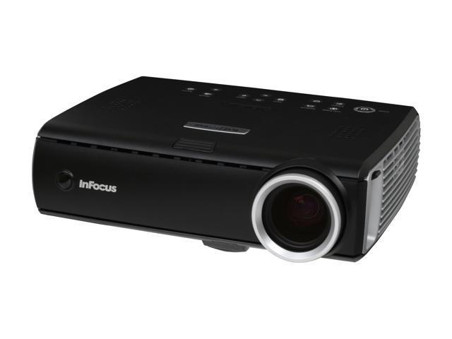 InFocus IN35 1024 x 768 Whisper: 1800 max ANSI lumens High Bright: 2500 max ANSI lumens max ANSI lumens DLP Projector