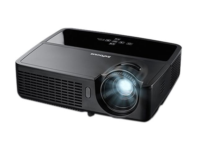 InFocus IN2124 1024 x 768 3200 lumens (High), 2500 lumens (Eco) DLP Projector 4000:1 RJ45