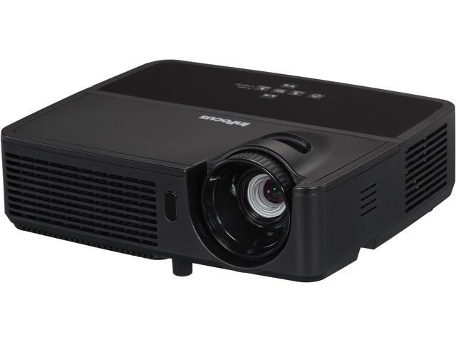 InFocus IN2126 WXGA 1280 x 800, 3200 Lumens, Slim Design & Lightweight, HDMI Input, 3D Ready DLP Projector