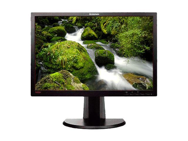 "lenovo ThinkVision LT2452p Black 24"" 7ms (GTG) Height & Pivot Adjustable Widescreen LED-Backlit IPS-Panel LCD Monitor 300 cd/m2 1000:1"
