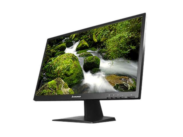 "lenovo LS2023  Black 20"" 5ms Widescreen LED Monitor"
