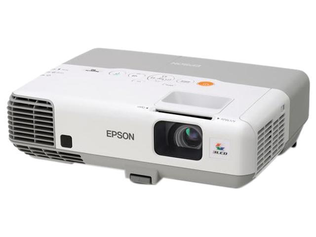 EPSON V11H381020 XGA 1024 x 768 2400 lumens 3LCD PowerLite 92 Multimedia Projector