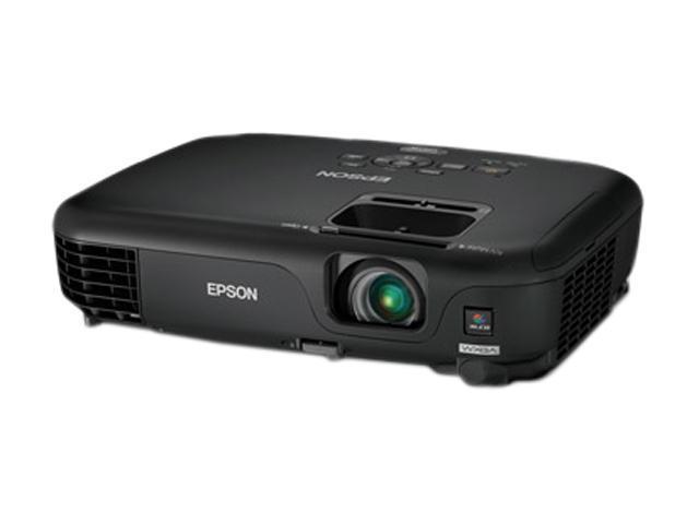 EPSON PowerLite 1261W 1280 x 800 2800 lumens LCD Projector
