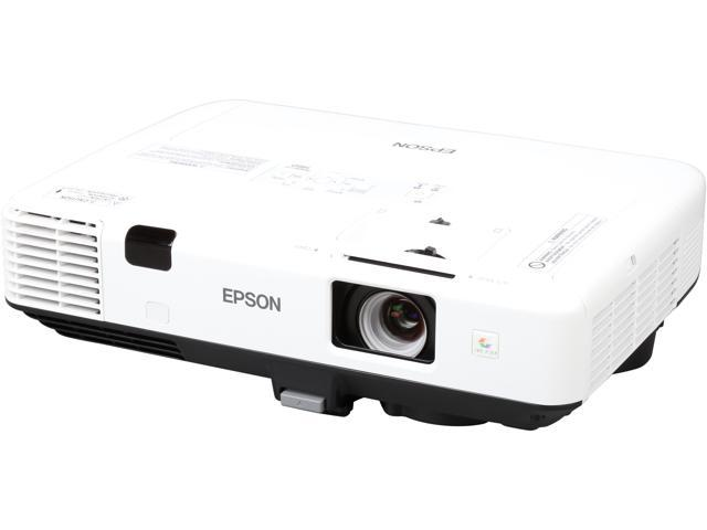Epson PowerLite 1960 1024 x 768 XGA 5000 ANSI Lumens, Network Monitor / Control, HDMI & USB Inputs, DICOM Simulation Mode, Split Screen Capability, 3LCD Projector
