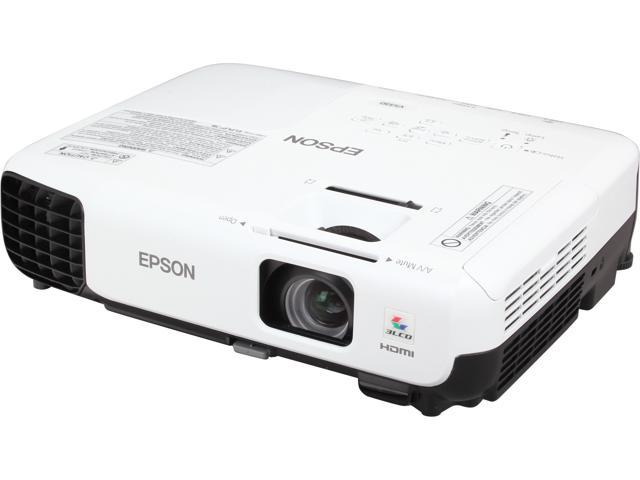 EPSON VS330 (V11H555220) 1024 x 768 2700 lumens 3LCD Projector 10,000:1