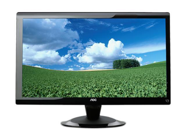 "AOC 2436Vw Glossy Black 24"" 5ms Widescreen LCD Monitor"