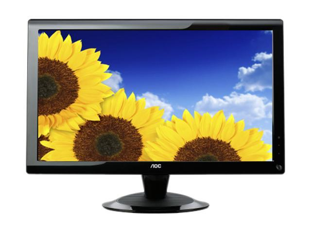 "AOC 2236Vwa Black 22"" (21.5"" viewable) 5ms Widescreen LCD Monitor Built-in Speakers"