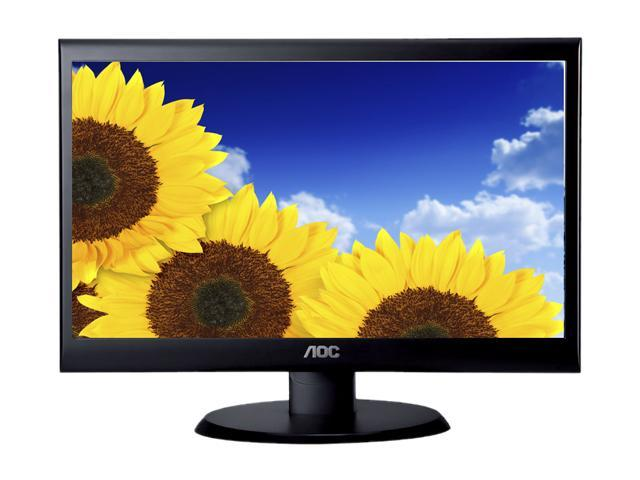 "AOC Value e2450Swd Black 23.6"" 5ms Widescreen LED Backlight LCD Monitor"