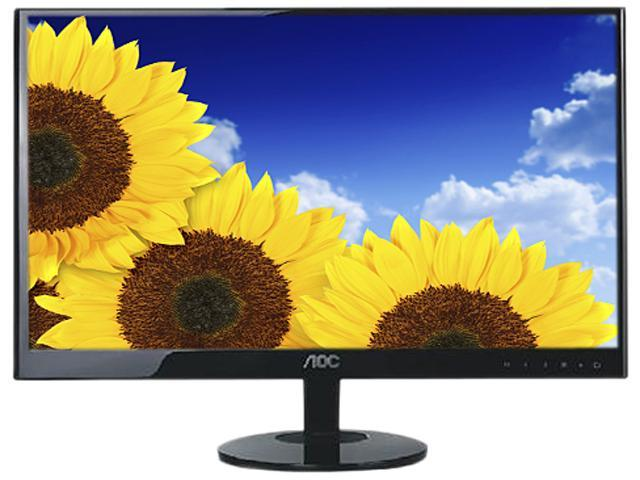 "AOC E2051F Black 20"" 5ms Widescreen LED Backlight LCD Monitor"